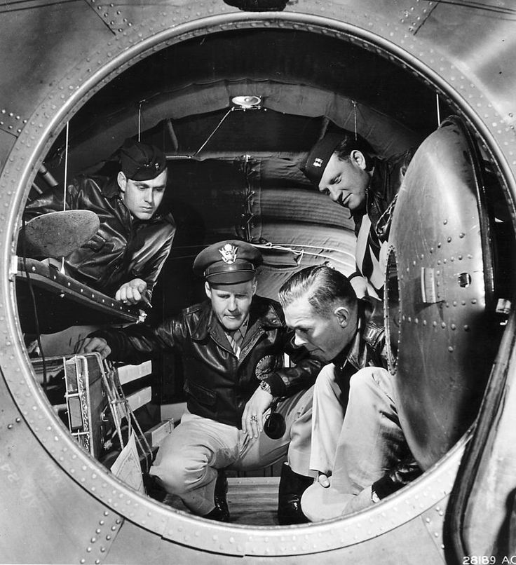 Interior of a B-29 Superfortress bomber - Boeing B-29 Superfortress - Wikipedia