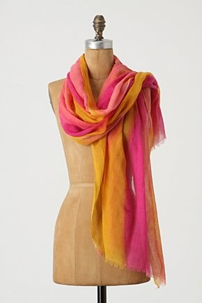 pretty scarf: Imaginings Scarf, Fashion, Scarf Anthropologie, Style Pinboard, Scarfs, Accessories, Products, Bright Colors
