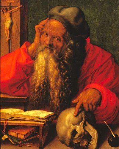 Albrecht Dürer Saint Jerome 1521 - St. Jerome in His Study (Dürer, 1521) - Wikipedia, the free encyclopedia