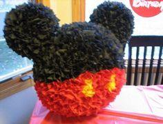 pinata casera de mickey mouse