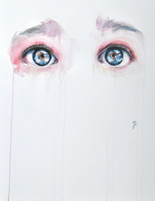 Alluring Watercolor Paintings Prove that Eyes are Windows to the Soul