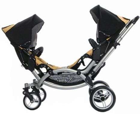 Leebruss Zoom Tote The Tots In A Titillating Twin Tandem