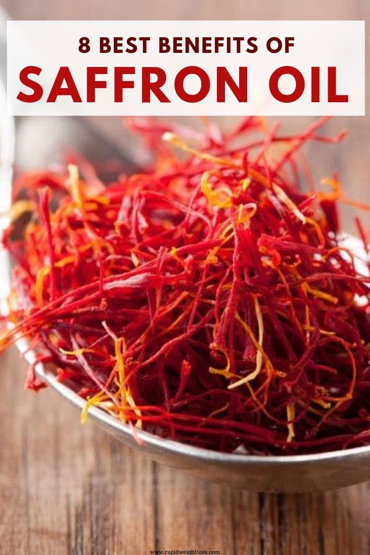 8 best benefits of saffron oil | saffron benefits, saffron