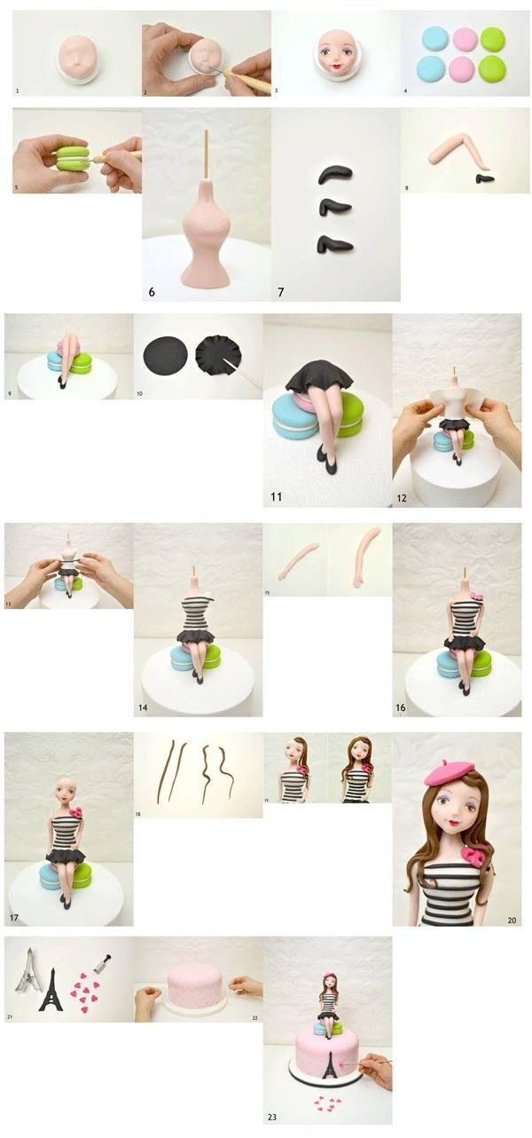 3d girl figurine how to