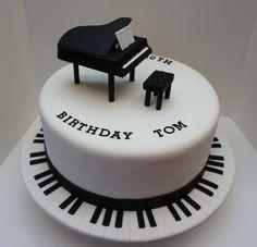 spiral piano cake - Google Search