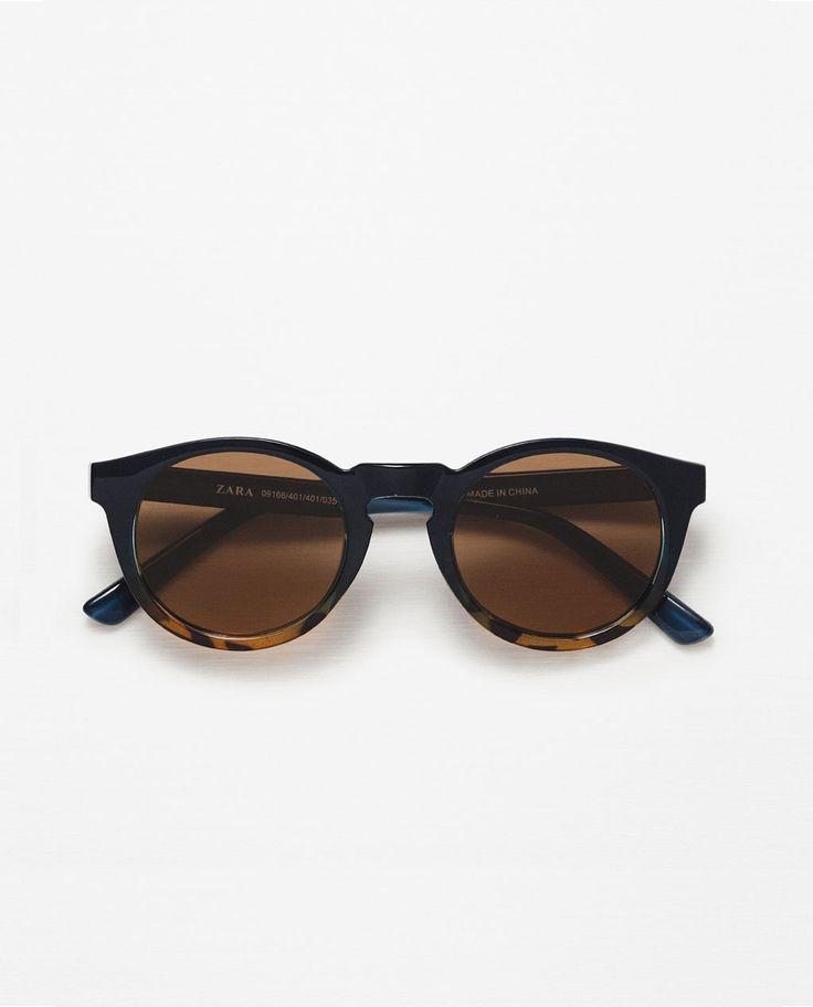 lunettes de soleil avec monture d grad e tendance homme 2017 pinterest zara italien et ps. Black Bedroom Furniture Sets. Home Design Ideas