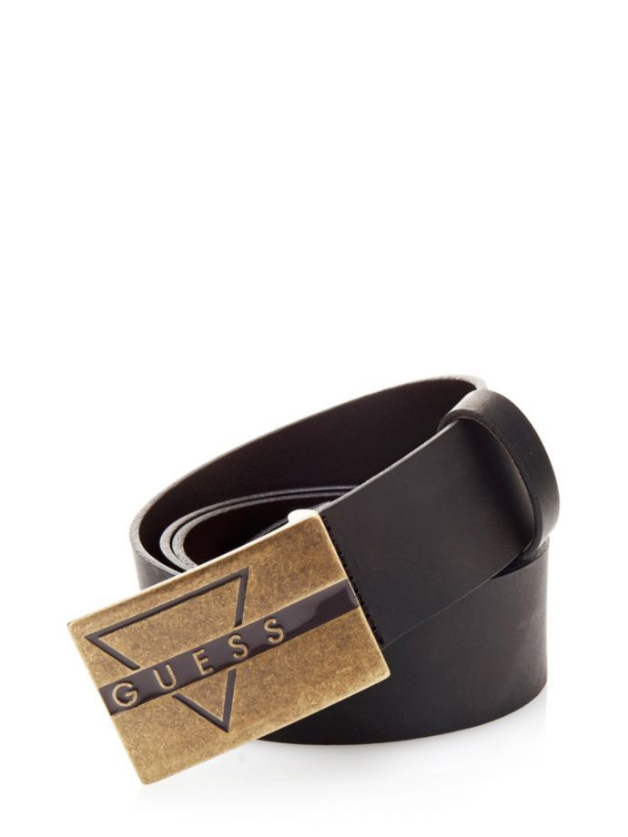 EUR45.90$  Watch now - http://vilnw.justgood.pw/vig/item.php?t=k10ejrd12384 - LEATHER BELT WITH LOGO EUR45.90$