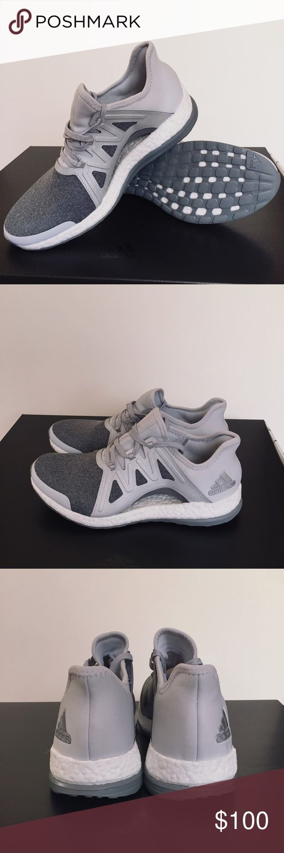 Adidas Avenue A Pure Boost Xpose Sneakers Sz 8.5 Designed go respond to the ways a women's foot moves as she runs, the shoes floating arch hugs and adapts your foot from push-off to footstrike in the most responsive cushioning to date. Part of the Adidas Avenue A Winter 2017 Box, so will ship in a different box. Adidas Shoes Sneakers