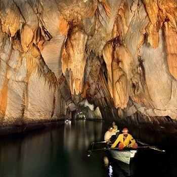 La rivière souterraine de Puerto Princesa, Philippines