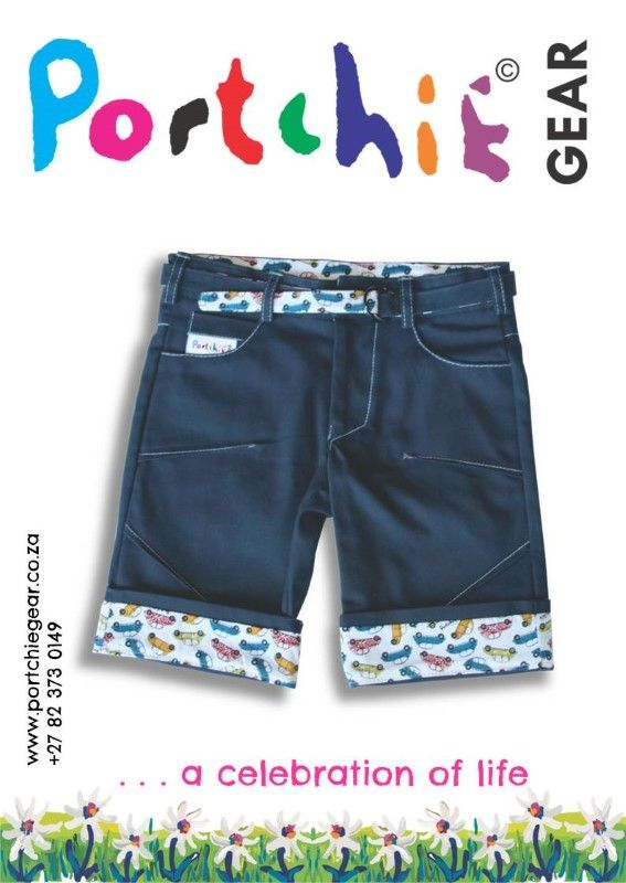 Boys #shorts by #portchiegear - www.portchiegear.co.za