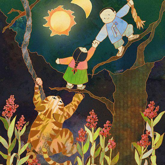 The Sun & Moon: Korean Folk Tale
