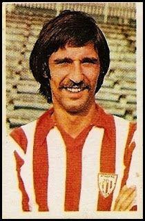Rojo II. Athletic Club de Bilbao. Cromos Ruiz Romero. Temporada 1976-77.
