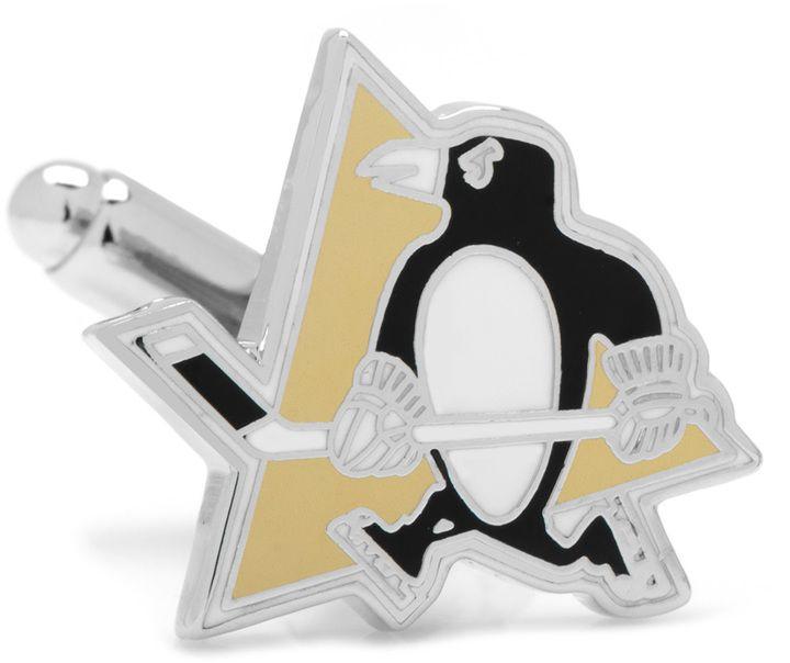Ice Pittsburgh Penguins Cufflinks https://api.shopstyle.com/action/apiVisitRetailer?id=491247467&pid=uid810