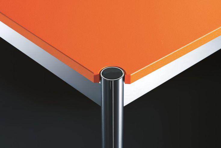 USM Haller Tisch USM-Farben. 14 verschiedenfarbige Oberflächen. Im Shop bei prooffice.de