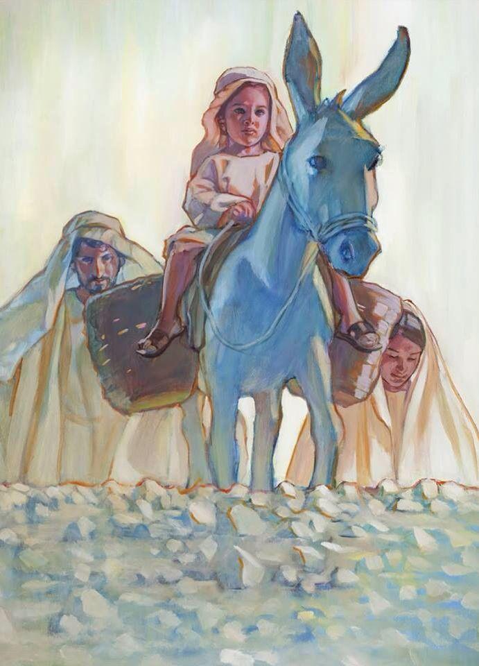 Regreso a Nazaret de la Sagrada Familia. Rose Datoc