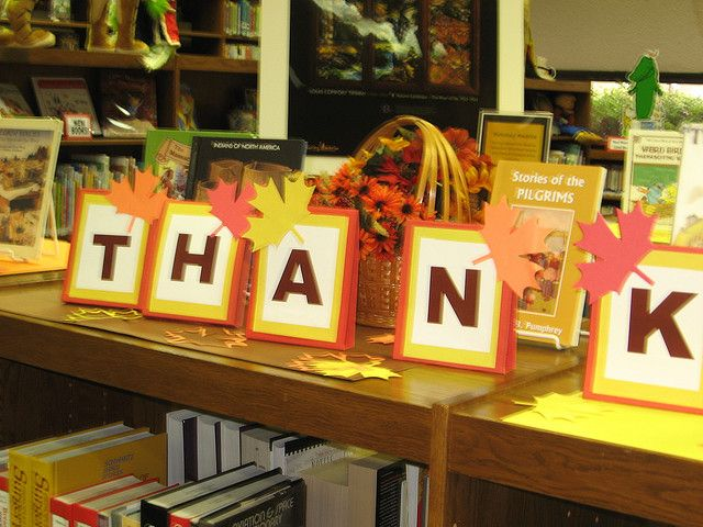 Decorating Ideas > Library Displays  Thanksgiving Display At The East  ~ 073412_Thanksgiving Library Decorations