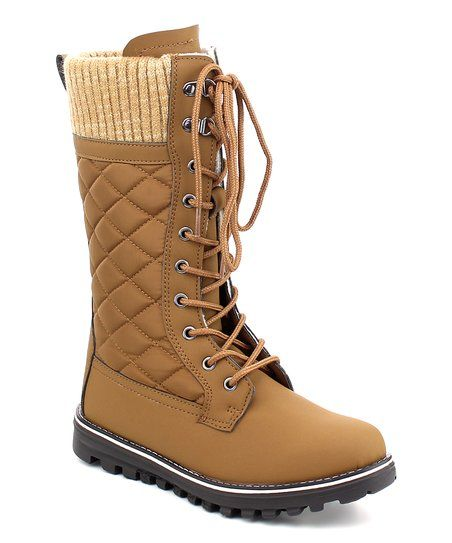 Refresh Tan Polar Boot | zulily