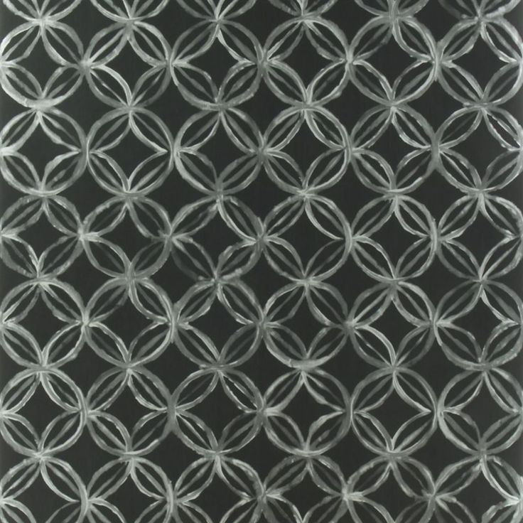 ottelia - noir wallpaper   Designers Guild