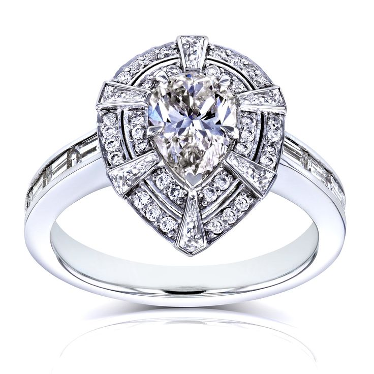 1000 ideas about Teardrop Engagement Rings on Pinterest