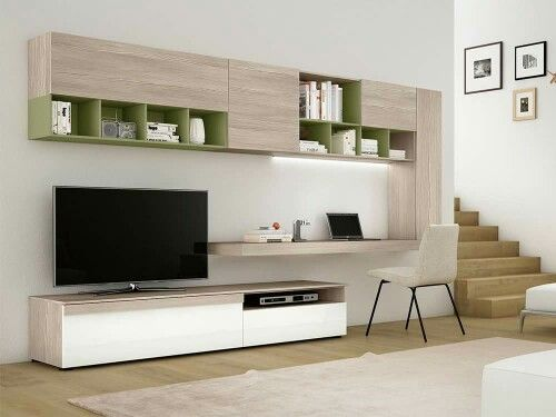 Best 25 tv wall units ideas on pinterest floating Study room wall cabinets