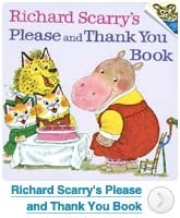 Richard Scarry's Please and Thank You Book: When it comes to children's literature of any variety, it's difficult to not to mention Richard Scarry. His take on teaching children manners is another classic. While the title might seem to suggest that this series of stories focuses on only a single aspect of good behavior, this couldn't be farther from the truth. Lessons about right and wrong, going to school, staying safe, and much more, fill each page and story. Unquestionably one of the best…
