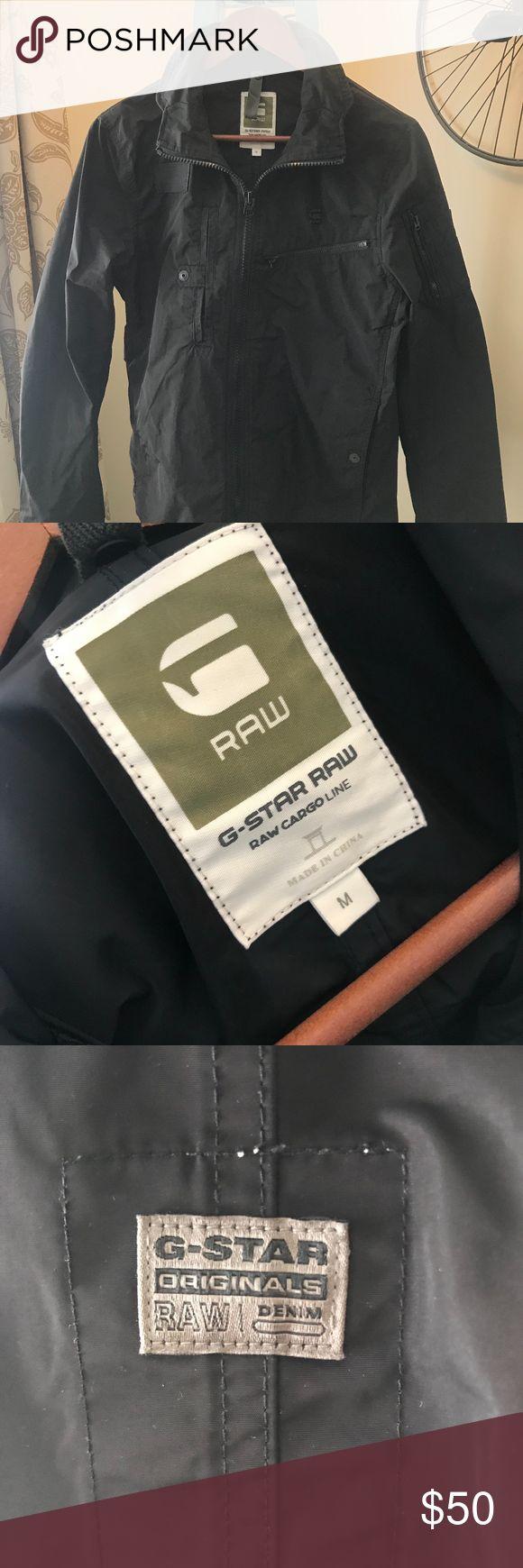 G-Star Raw Cargo Jacket G- Star Cargo Line Jacket in great shape. Size Medium G-Star Jackets & Coats Military & Field