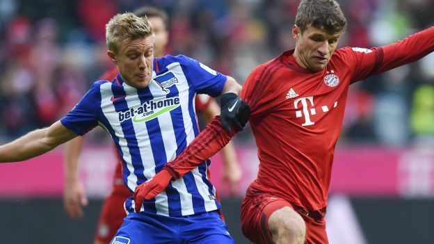 El Bayern Munich está imparable. El equipo del técnico Josep Guardiola es el único líder de la Bundesliga con 8 puntos de diferencia al segundo (Borussia Dortmund) y este sábado intentará ampliar su liderato cuando visite a las 9:30 am. al Borussia M'gladbach. Diciembre 03, 2015.