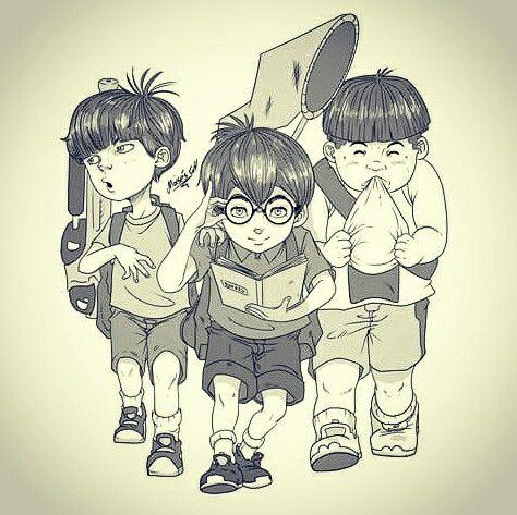 Manga amime boy children scout by moisesgh
