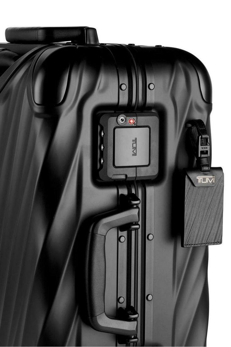The Tumi 19 Degree Aluminum Collection puts a twist in luggage design with strategically sculpted angles set against meticulously-crafted, extra durable aluminium. #travel