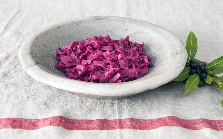 Fermenteret rødkål