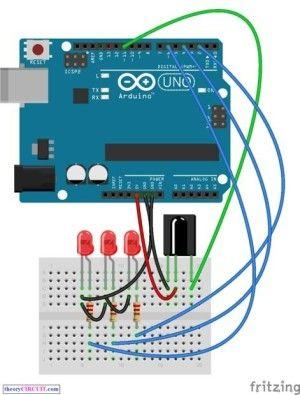 Arduino IR Remote Control                                                                                                                                                                                 Más