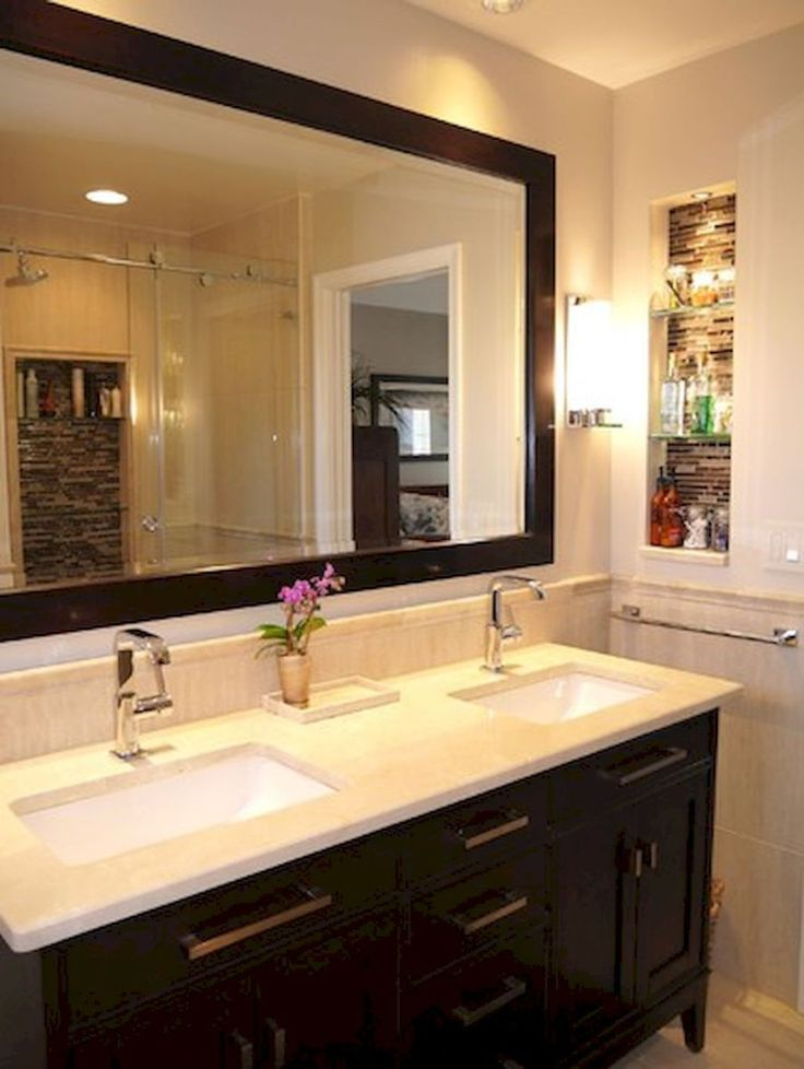Cool Small Master Bathroom Renovation Ideas 8