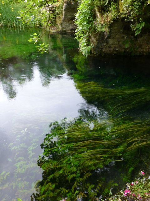 """La Ninfa means nymph. The Oxford English dictionary defines the word and the ethereal nature of this garden perfectly:  """"a mythological spirit of nature imagined as a beautiful maiden inhabiting rivers, wood or other locations"""". Ninfa, Italy"""