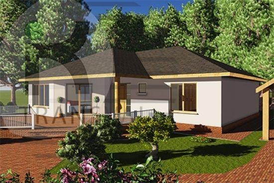 Casa Brest - case de lwmn Case in legno - Brest model Brest wooden house model timber framin www.transval.ro