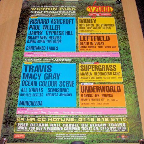 V Festival 2000 Poster - V2000