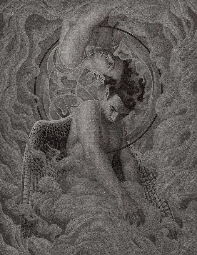 Dibujos de la psique humana hechos por Boris Pelcer 8