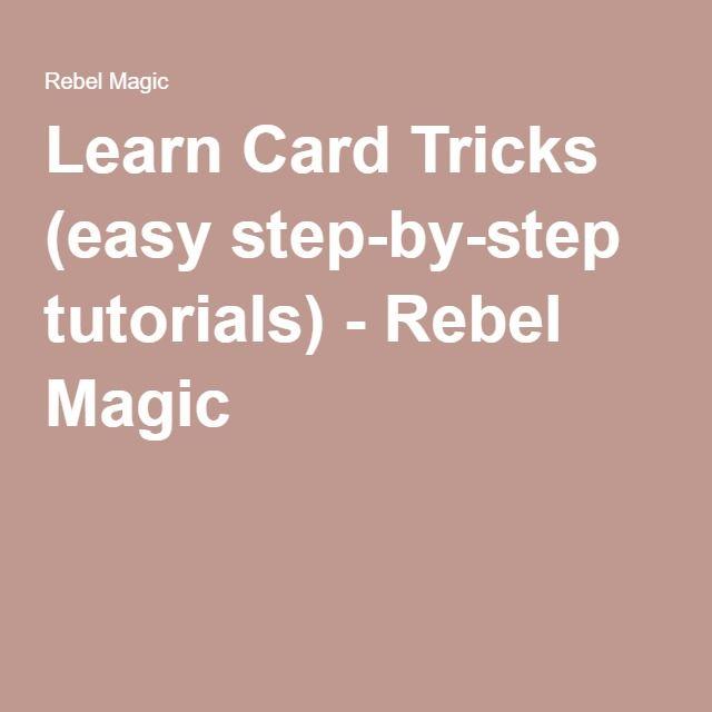 Card Magic Tricks Revealed - Cool Card Trick Secrets