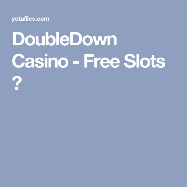 double down casino online free