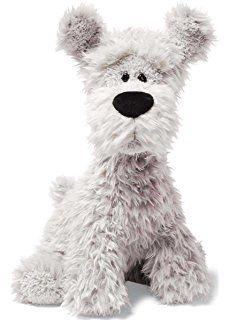 Gund, peluche de 11.5 pulgadas de perro raza Terrier con pelo en hebras Bentley