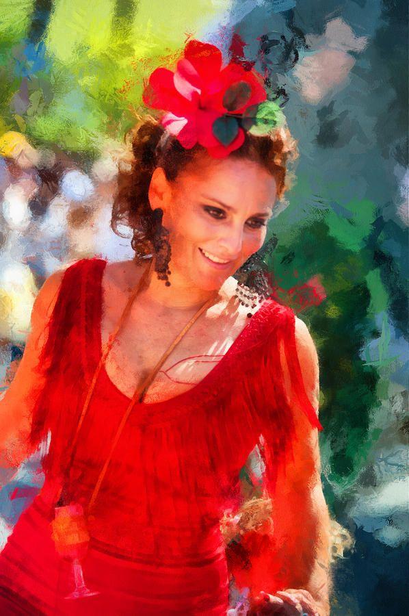 Passionate Gypsy Blood. Flamenco Dance by Jenny Rainbow