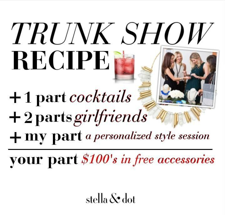 165 Best Images About Stella & Dot Trunk Shows On