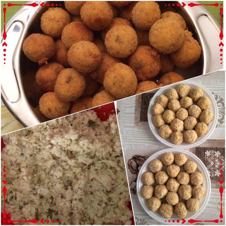 The making of fish balls