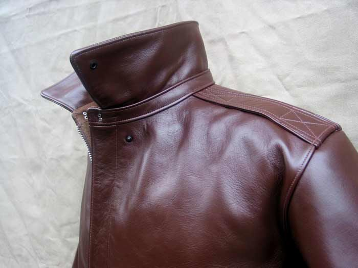 J.A. Dubow Mfg. Co. A-2 Horsehide Leather Flight Jacket // by Lost Worlds