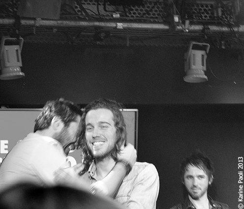 Concert privé de Julien Doré au Grand Studio RTL | Karine Paoli
