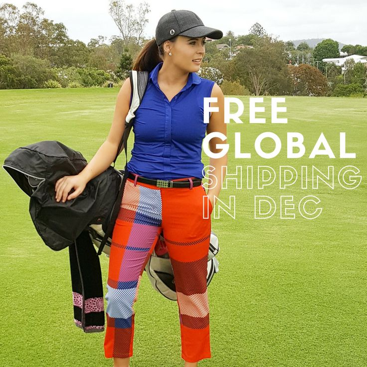 Don't forget, we are offering FREE GLOBAL SHIPPING in December, so help us spread the word & get our boutique Golf Coast Golf label out to women world wide, and let's continue to have some fun on those fairways. More great daily deals coming everyday xo
