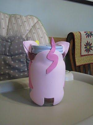 Kimberbucket: Piggy Bank Craft