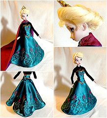 Elsa Coronation Dress! (They Call Me Obsessed) Tags: new anna snow motion cold movie frozen store doll dolls dress ooak picture royal disney...