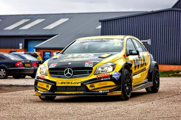 WIX Racing Mercedes-Benz A45AMG BTCC | BENZTUNING | Performance and Style