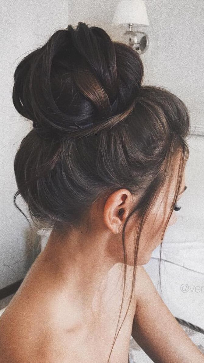Ummm is this the most ideal bun or what  Did you know you can clip in hair extensions in for volume in your bun too?? Check out the Luxy Hair Blog to learn how