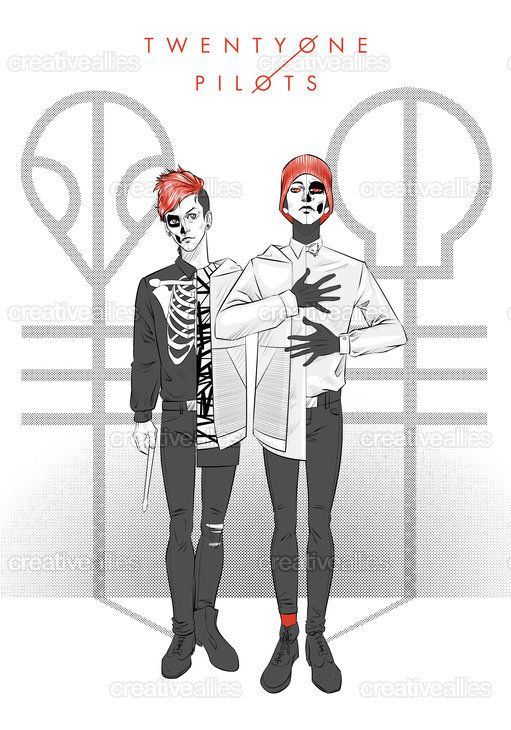 TWENTY+ONE+PILOTS+Poster+by+iamcokezero+on+CreativeAllies.com